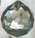 Beautiful shining crystal facets, reflecting light. Rainbow colors are often visible on the surface of the prism, and rainbows splash far away from the crystal in sunlight. Crystal Ball ~ Wonderful Rainbows, Beautiful Crystal Shape