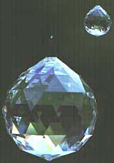 See the smooth shimmering beauty and remarkable exquisite Round shape of the Crystal Ball.