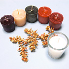 Highly Scented Frosted  Colorful 15-Hour Votive Candles. Very Special!