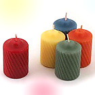 Make Your Own Rainbow With Gorgeous Colorful Scented 15 Hour Votive Candles!