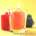 Fabulous Scented 15 Hour Votives! Spices, Fruits, and Florals in Creamy-rich Wax Colors. Superior Quality. Light One or a Dozen! Wholesale, too!
