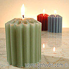 Dripless Pillar Candles in Lots of Sizes, Colors, and Luscious Scents!
