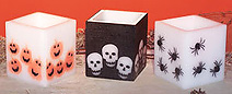 Fragrant Five Inch Spooky Halloween Lanterns Light The Outdoors!