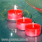 Luscious Scented 4 Hour Tealight Candles.