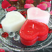 Fragrant Heart Shaped Red, Pink, White Scented Candles!
