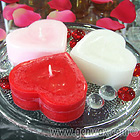 Scented Small Heart Candles! DISCONTINUED.