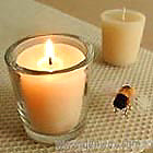 Luxurious Pure BEESWAX Tapered 15 Hour Votive Candles! Wow!