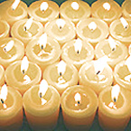 Beautiful Clean-Burning Naturally Fragrant 100% Beeswax Votive Candles! Very Special! Indulge & Celebrate!
