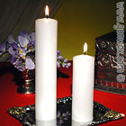 Beautiful and Elegant Tall Fireside Pillar Candles!