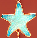 Carson Home Accents Sparkly Glittering Star from Wireworks Galaxy Mobile!