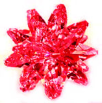 """Cluster Baby 1.25""""  Red"""
