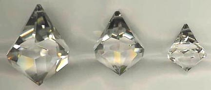 Bell Crystal, Three Sizes.