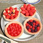 Individual Fruit Tarts! (Candles- Sorry, Discontinued)