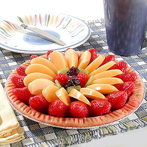 Tempting Fruit Tart Candle! (Sorry, Discontinued)