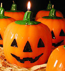 Happy Halloween Jack O'Lantern Pumpkin Candle! (For You To Make!)