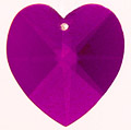 Deep Purple Blue-Violet Prism Heart!