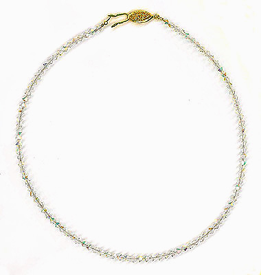 "~ Crystal Sparkling Necklace 15"" or 16"" ~"