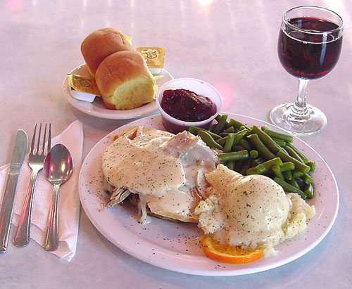 Everyday is Thanksgiving with Our Own Roasted Turkey Dinner
