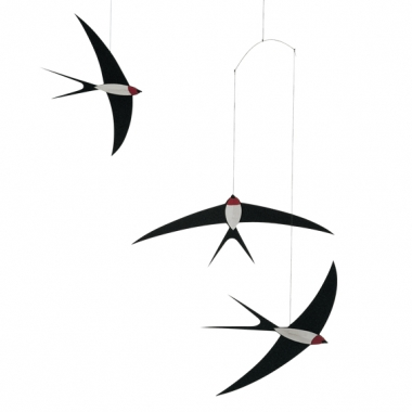 Swooping Swallows Mobile by Flensted of Denmark