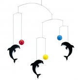 a Flensted Mobile  Dolphins