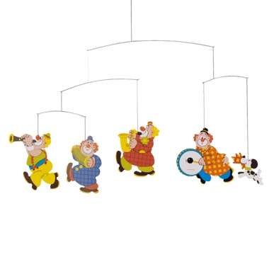 Circus Clown Mobile by Flensted of Denmark