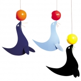 Three Happy Sealions Flensted Mobile