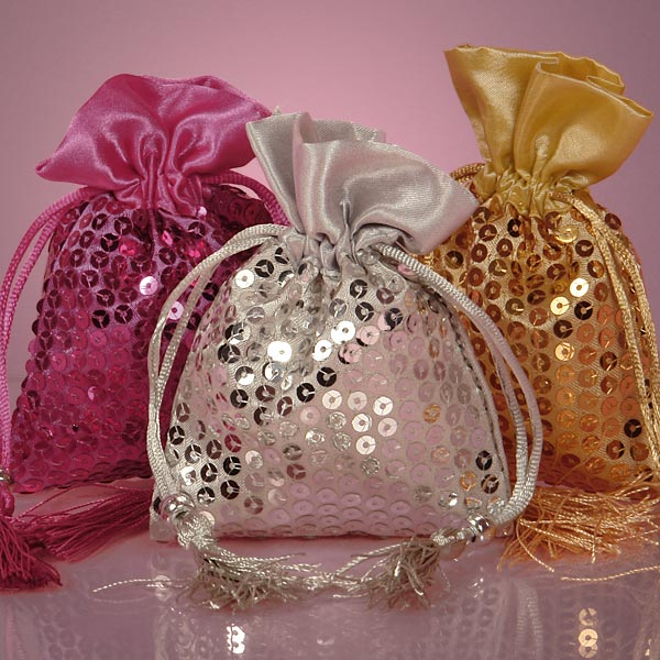 Shining Sequin Gift Bag