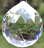 Gorgeous Swarovski Crystal Ball.