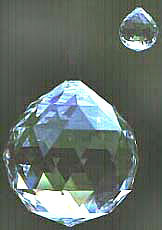 Ball 70mm and Ball 20mm by Swarovski.