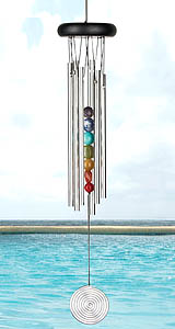 Whimsical Wonderful Windchimes! Gorgeous colors, fabulous sounds, graceful movement, great design!