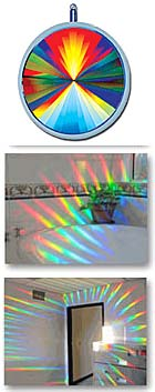 Axicon Rainbow Window Suncatcher