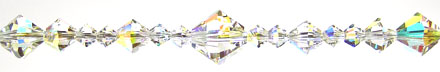 Enchantment Crystal Bead Hanger Crystal Clear AB - Swarovski Beads