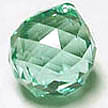 Crystal Ball 30mm Antique Green (Blue-Green)