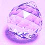 Crystal Ball Light Violet