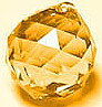 Crystal Ball Golden Topaz