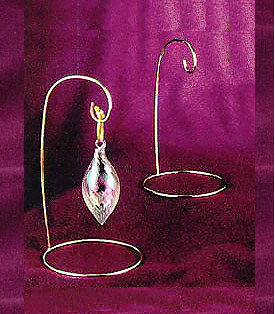 * Brass Ornament Stand- Small  OR Medium *