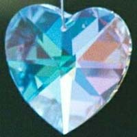 Heart Prism 40mm - or - 28mm