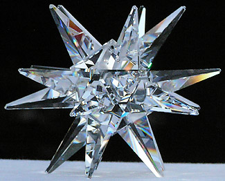 Beautiful and Fascinating Clear 130mm Moravian Star.