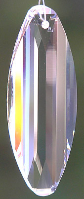 Swarovski 2005 New Design Surfboard Crystal 50mm or 50ab. Very Shiny and Sparkly!