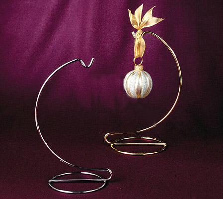 * Elegantly Simple Brass Stand *