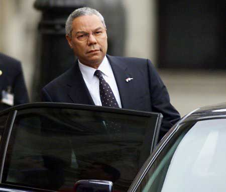 Colin Powell - He is Angry