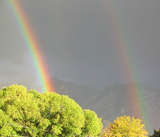 Double Rainbow Over Utah! Taken by Jim Stavast, of Shopsite.com